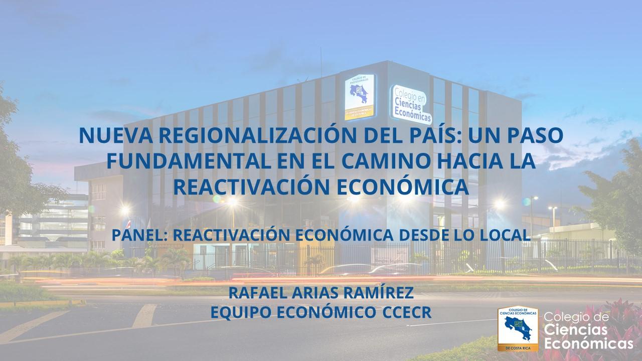 Reactivación económica desde lo local